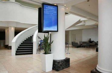 Hotel Lobby Display and Wayfindings