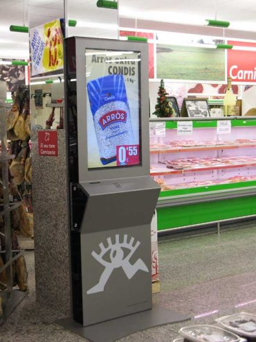 Interactive Display for Supermarkets