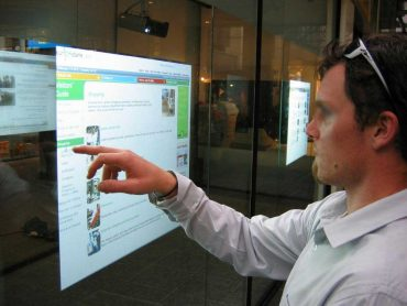 Retail Window Interactive Digital Signage