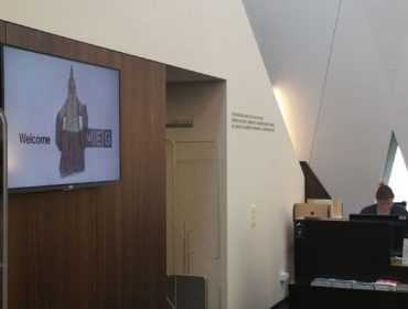 Library and Lobby Display