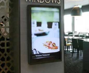 Hotel Luxury Digital Sign India