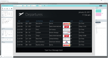 Create your Flight information system with QL Designer